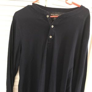 Jcrew Factory Long-sleeve slub cotton henley